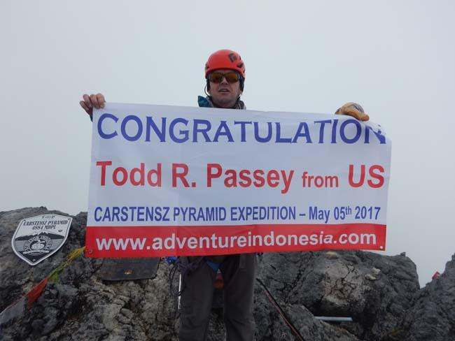 Todd Passey Carstensz Expedition